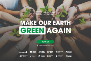 Ảnh của TreeChain Network – dự án trồng 11 tỷ cây trong 10 năm & phân tích tiềm năng của TREECOIN Token