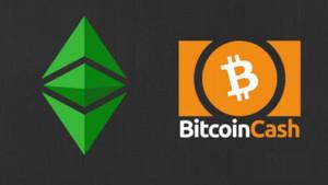 """Ảnh của Bitcoin Cash (BCH) và Ethereum Classic (ETC) bùng nổ khi các nhà đầu tư đổ xô vào """"fork coin"""""""