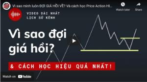 Ảnh của Vì sao mình luôn ĐỢI GIÁ HỒI VỀ? Và cách học Price Action HIỆU QUẢ NHẤT.