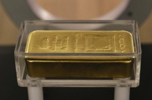 Picture of Gold Down, Near One-Week Low Over Strengthening Dollar, Increasing Risk Appetite