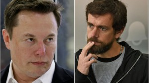 """Ảnh của Jack Dorsey né câu hỏi khó của Elon Musk tại hội thảo """"The B Word"""""""