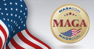 Ảnh của Buổi ra mắt MAGACOIN của phe ủng hộ Donald Trump thất bại do dữ liệu web bị xâm phạm