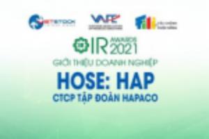 Ảnh của IR AWARDS 2021: Giới thiệu CTCP Tập đoàn Hapaco (HOSE: HAP)