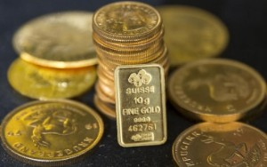 Picture of Gold Up, Holds Near $1,800 Mark Ahead of Latest Fed Policy Decision