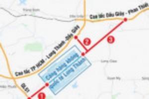 Ảnh của Nghiên cứu áp dụng khung bồi thường cho 2 tuyến giao thông kết nối sân bay Long Thành