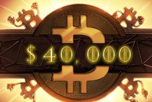 Ảnh của Giá Bitcoin lại vừa phá vỡ $40k – Đây là lý do