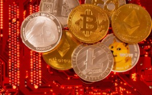 Picture of Cryptocurrencies slide as market selloff deepens