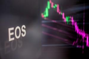 Ảnh của EOS giao dịch trong sắc đỏ, giảm 13%