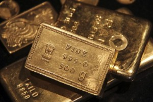 Picture of Gold up on Evergrande Fallout, Pre-Fed Play on U.S. Yields, Dollar
