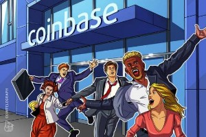 Picture of Coinbase users can choose to deposit paychecks directly to accounts