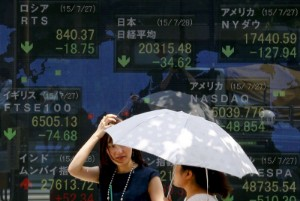 Picture of Asian Stocks Down Over Rising U.S. Treasury Yields, Oil Rally