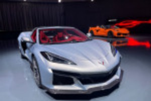Picture of GM rages against end of combustion age with a 670-hp Corvette